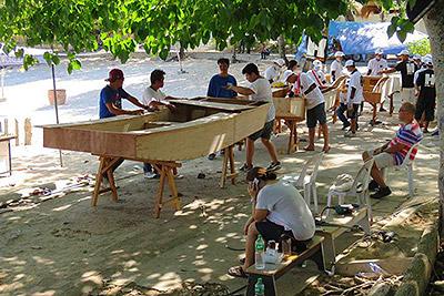 Famile Boatbuilding Weekend 2017 Samal Island