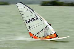 Photograph, windsurfing, Caliraya Lake