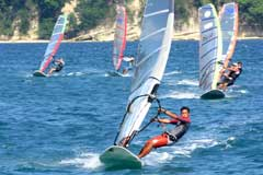 Photograph, Windsurfing Puerto Galera Philippines