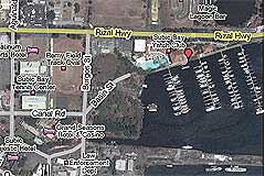 Image, Google Earth Open Street Maps Map of Subic Bay