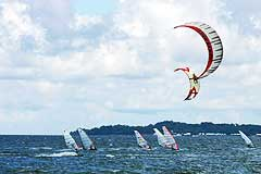 Windsurfing Kiteboarding in Subic Bay