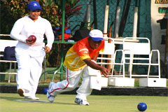 Philippine Lawn Bowls Team in Scotland August 2009