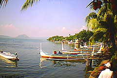 Taal Lake Yacht Club Webcam Taal Volcano