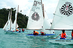 Puerto Galera Yacht Club Lawin Regatta 2009 Philippines