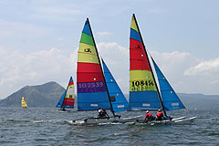 Taal Lake Yacht Club Round The Volcano Race 2009 Philippines