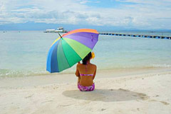 Samal Island Hof Gorei Beach Resort White Sand Beach Tropical Garden Beach Resort