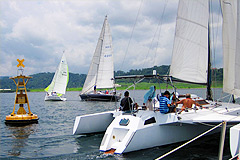 Photograph: Sailing Regatta 2010 Subic Bay Philippines