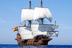 Image: Manila Galleon Andalucía Arriving Philippines