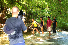 Image: Living Asia Discovers Davao del Norte Philippines River Trekking