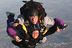 Photograph:Tandem Skydiving Subic Bay Philippines