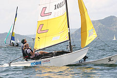 Image: Hobie 16s on Taal Lake Philippines