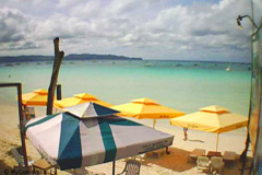 Webcam Image: Ariels Beachfront Bar Boracay beach Philippines