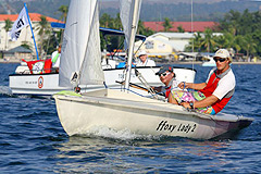 Flying Fifteens compete in Subic Bay