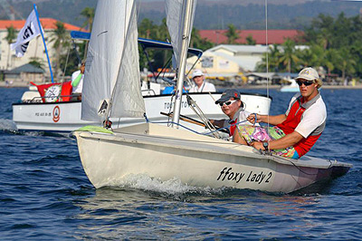 Flying Fifteens compete in Subic Bay large