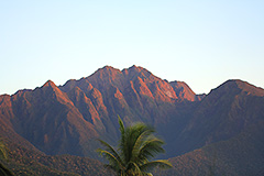 mt guiting-guiting sunset
