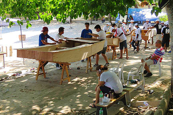boatbuilding weekend Samal 2017